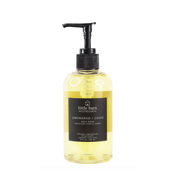 Lemongrass + Cedar Body Wash