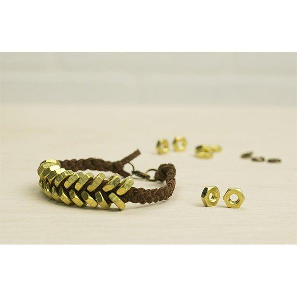 Makers Kit Hex Nut Bracelet Kit