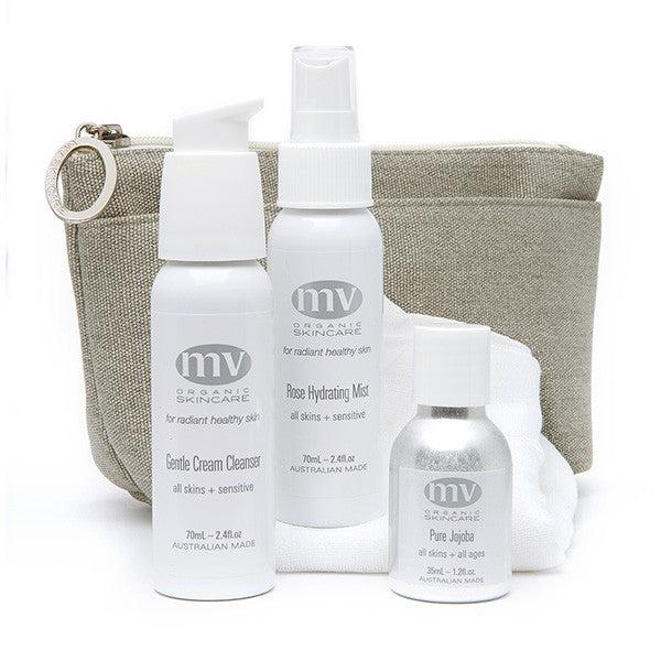 MV Skincare Travel Essentials For All Skin Types and All Ages