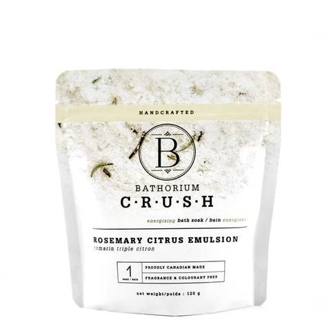 Bathorium Rosemary Citrus Emulsion Crush