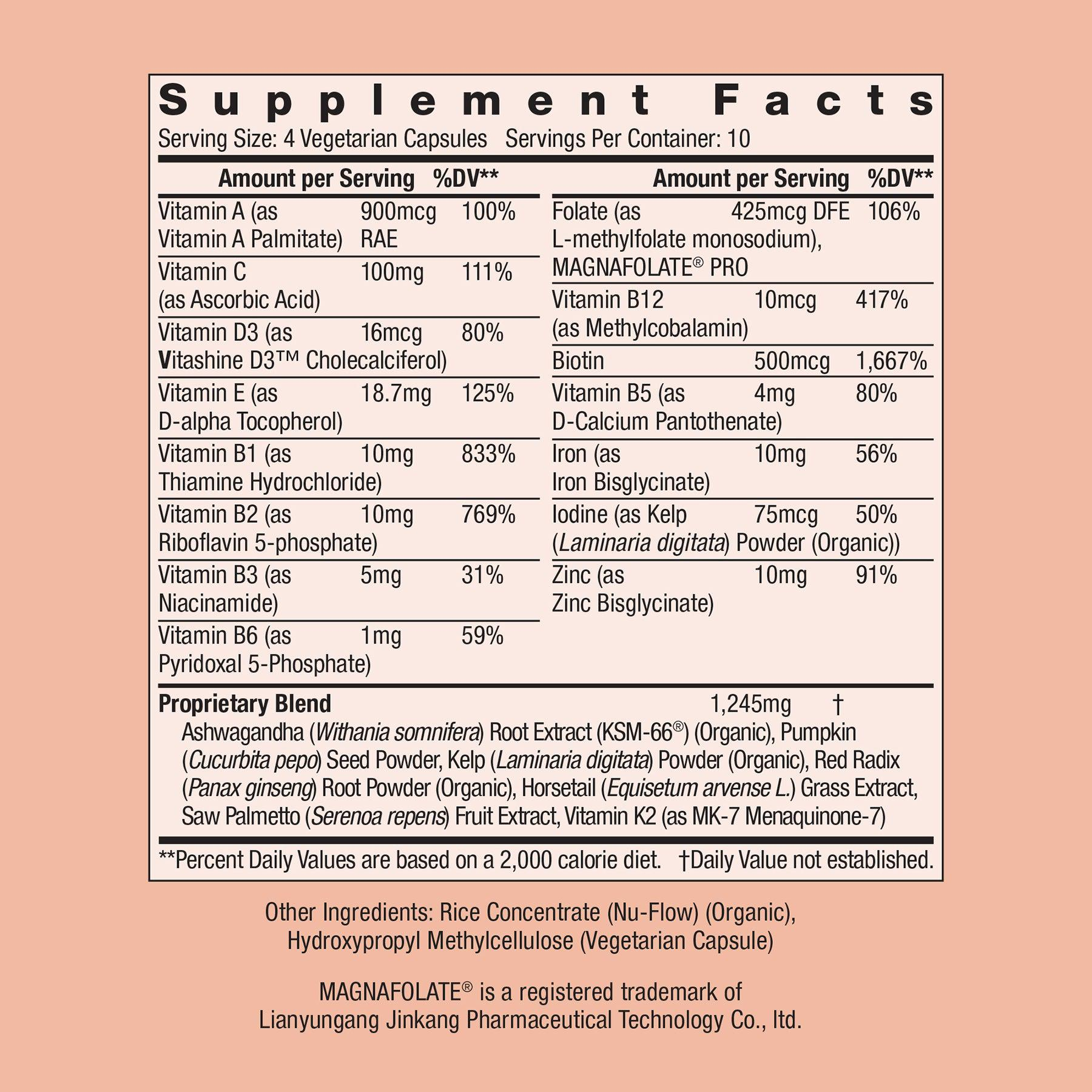 SuperHair® 10 Day Nutrition Supplement