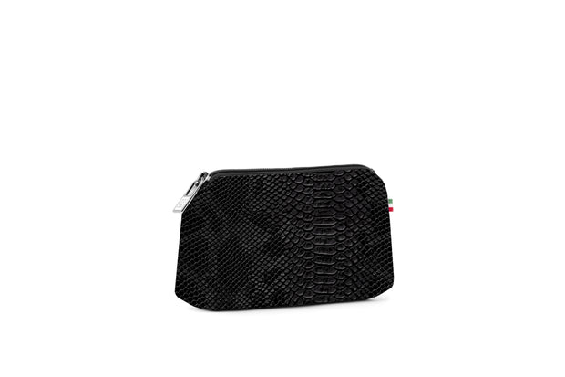 Travel Pouch Small Stampata Python