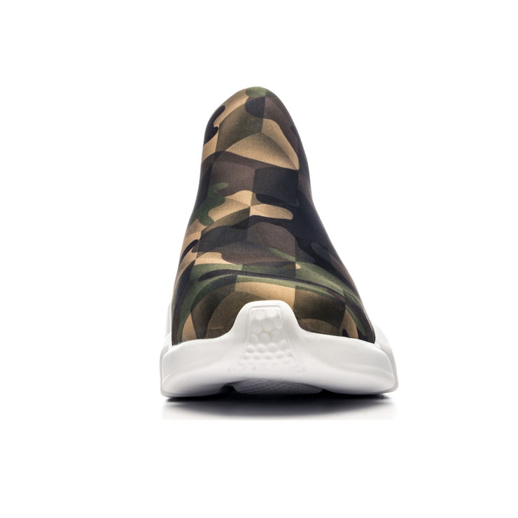Sneakers Camouflage Green - front single