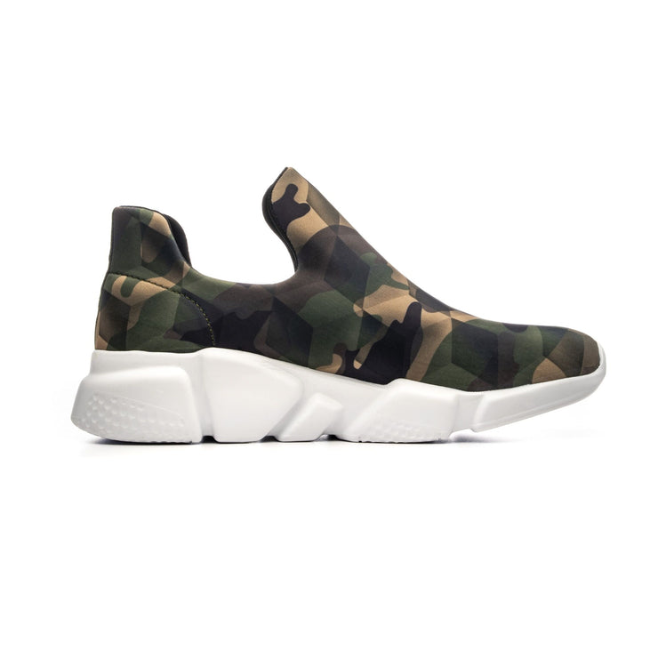 Sneakers Camouflage Green - right side