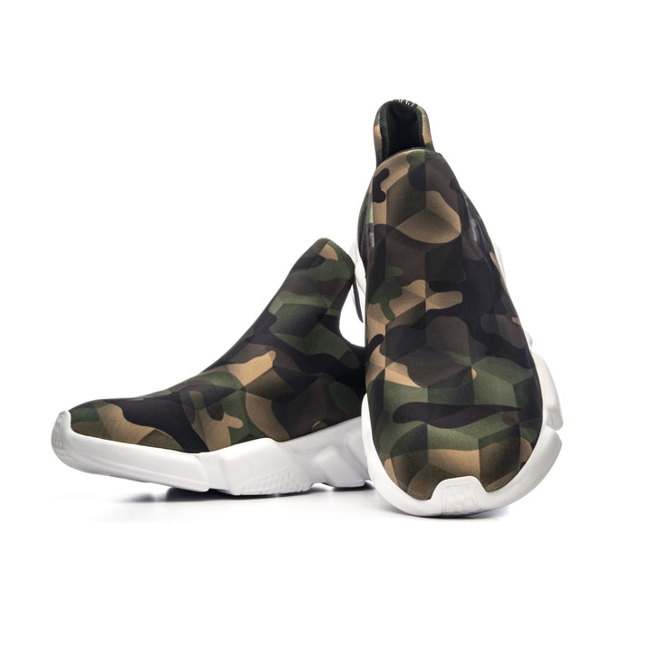 Sneakers Camouflage Green - pair