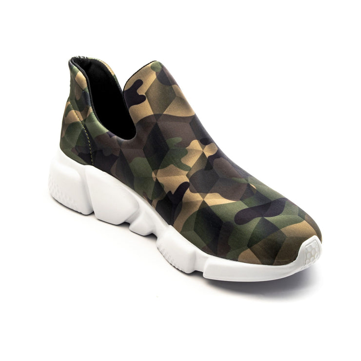 Sneakers Camouflage Green - left angle