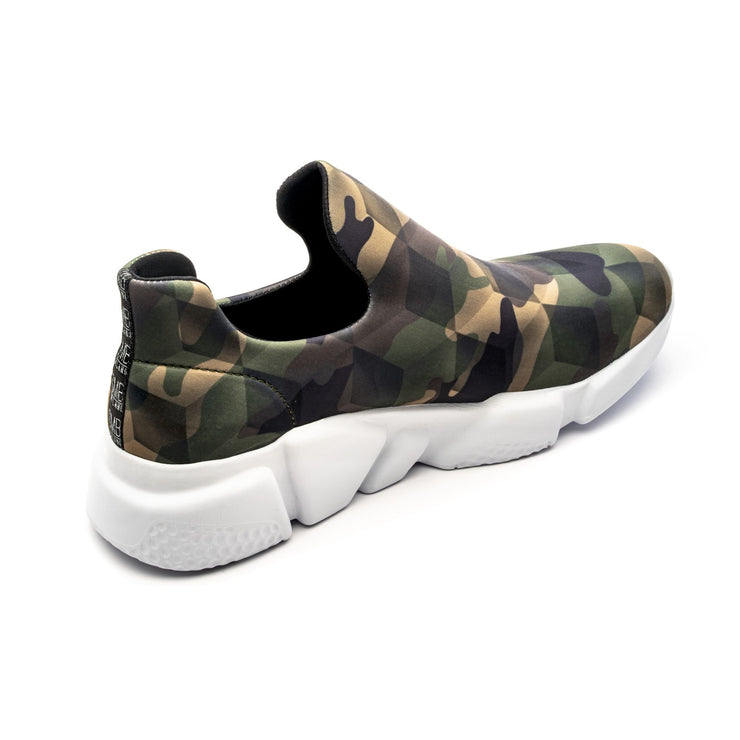 Sneakers Camouflage Green - right angle