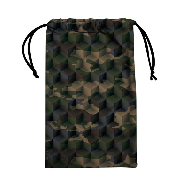 Sneakers Camouflage Green - shoe bag