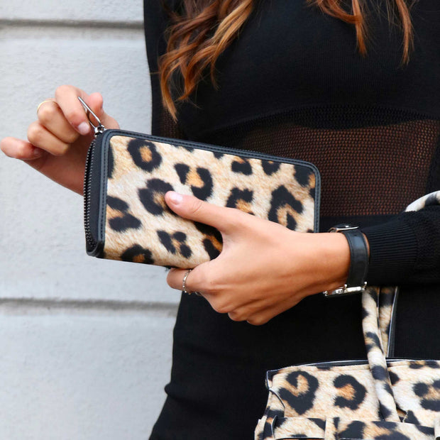 Save My Bag Pouch-Wallet Printed Leopard lifestyle