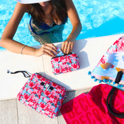 Travel Pouch Small Stampata Mykonos lifestyle