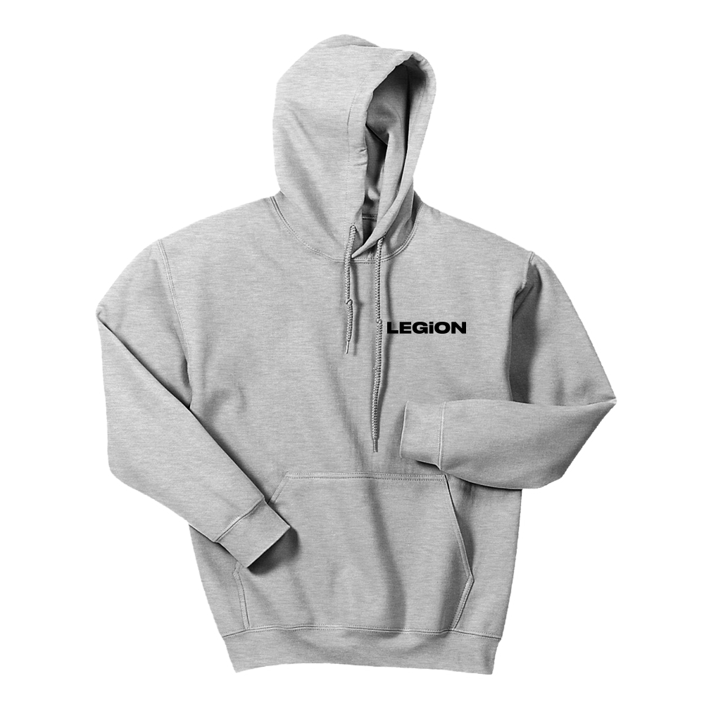 Legion - Heather Gray Hoodie Bundle