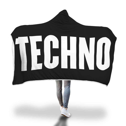 Techno Hooded Blanket