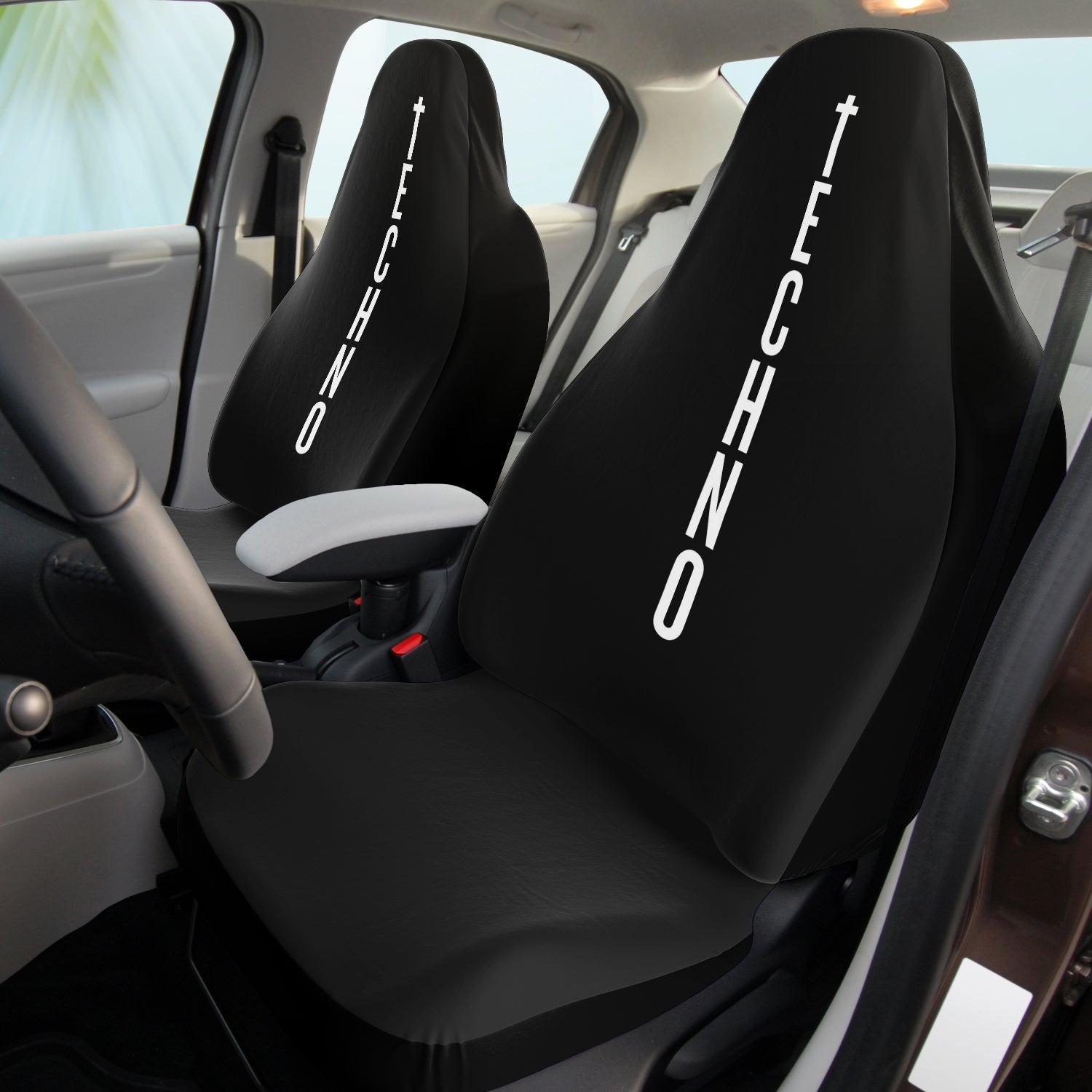 Techno Totem Car Seat Covers