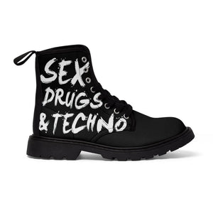 Sex, Drugs & Techno Women's Martin Boots