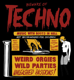 Beware of Techno T-Shirt