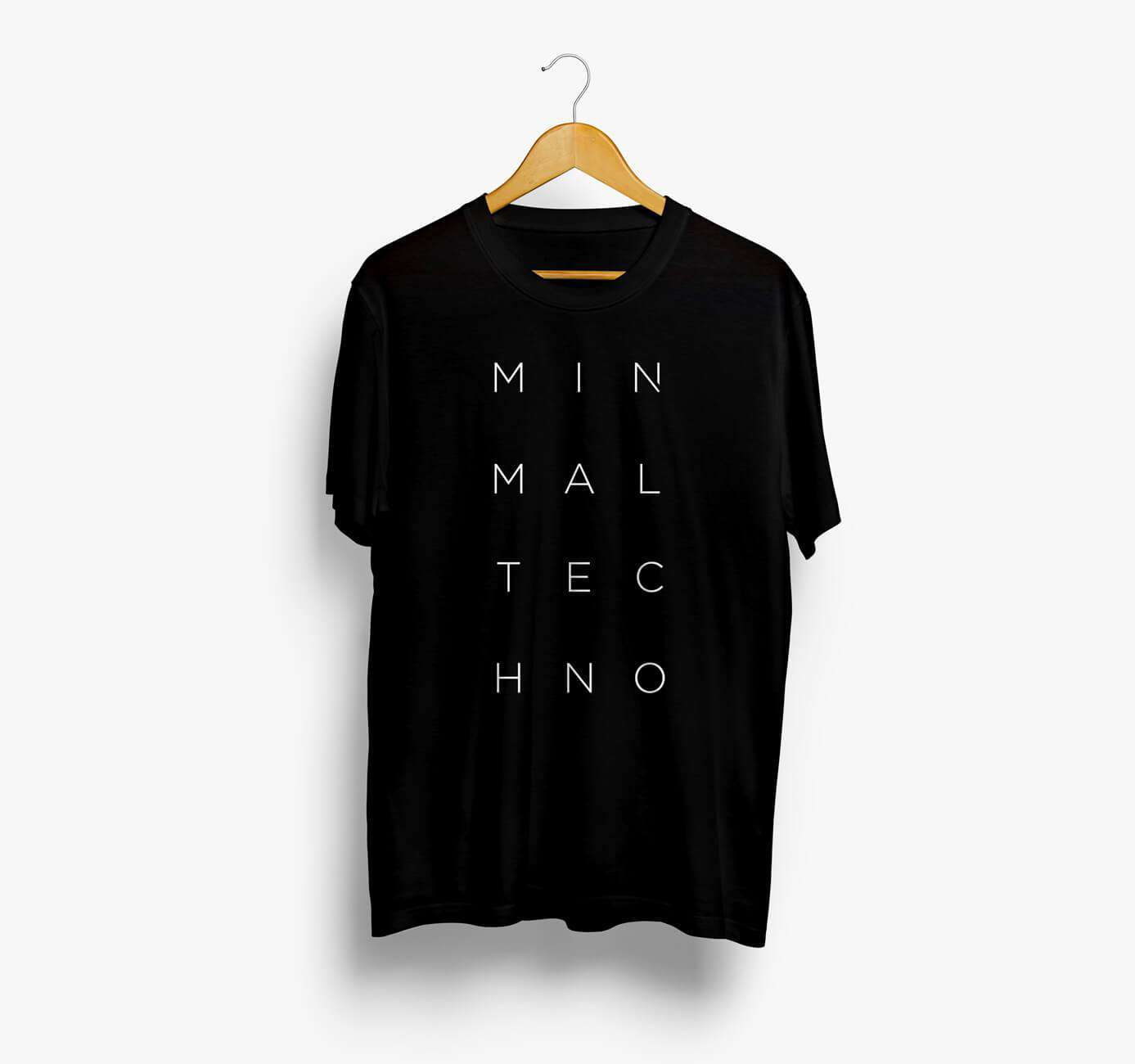 Minimal Techno T-Shirt