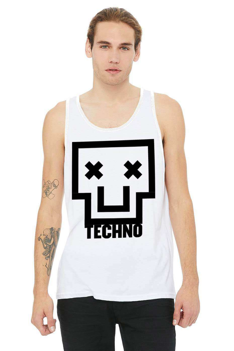 Techno Skull Tank Top