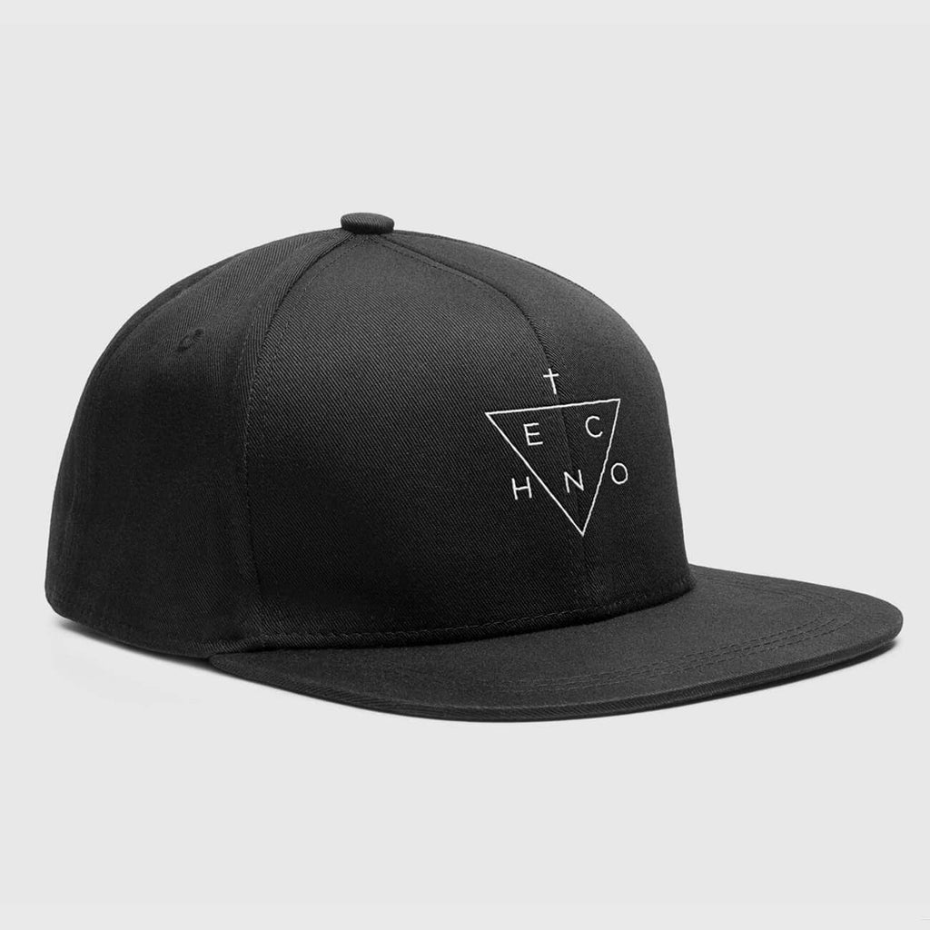 Techno Triangle Snapback Hat