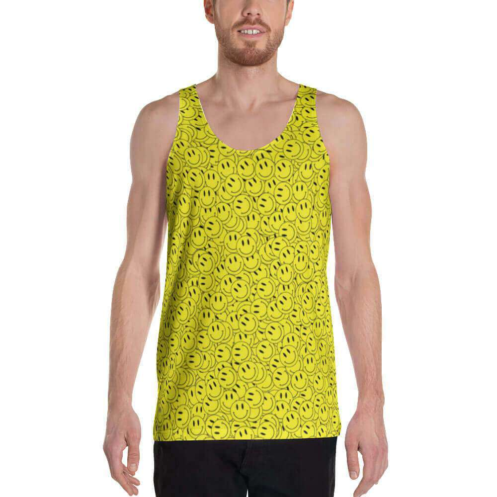 Acid Smiley Tank Top