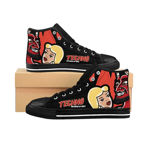 Music of Hell Men's High-tops