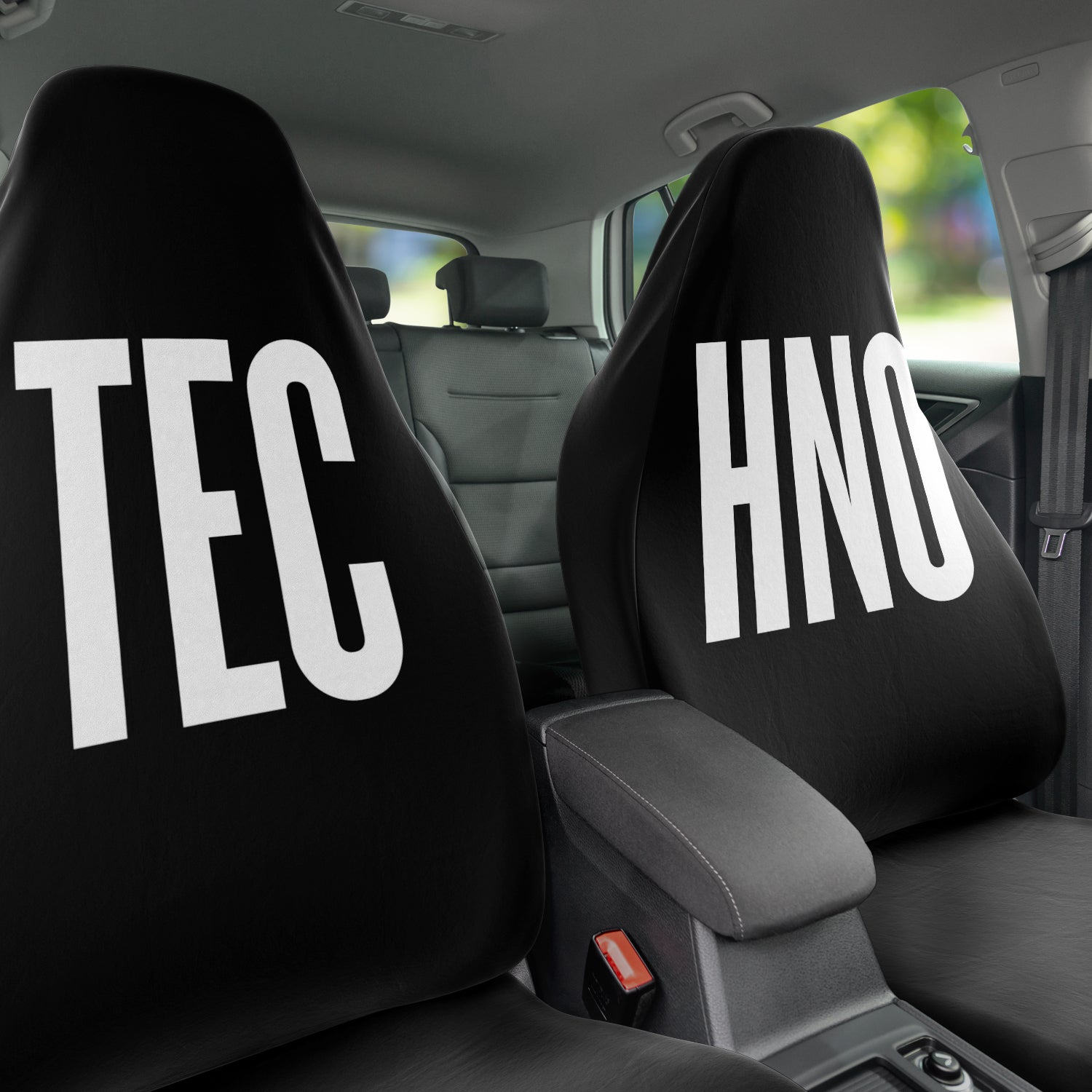 Techno Car Seat Covers