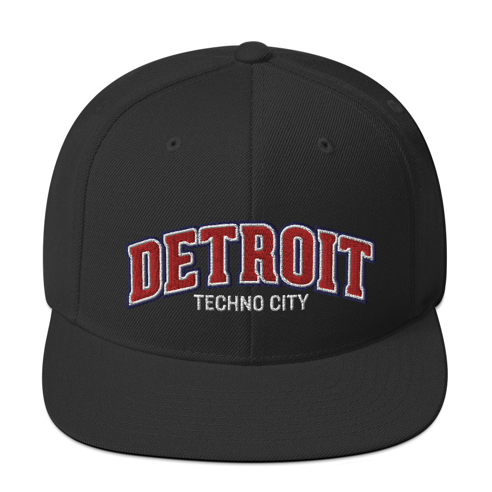 Detroit Techno City Snapback