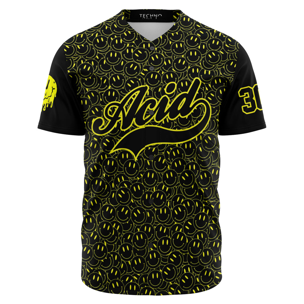 Acid Attack Baseball Jersey