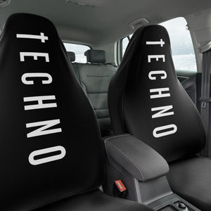 Techno Religion Car Seat Covers