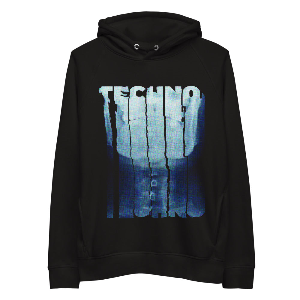 X Ray pullover hoodie