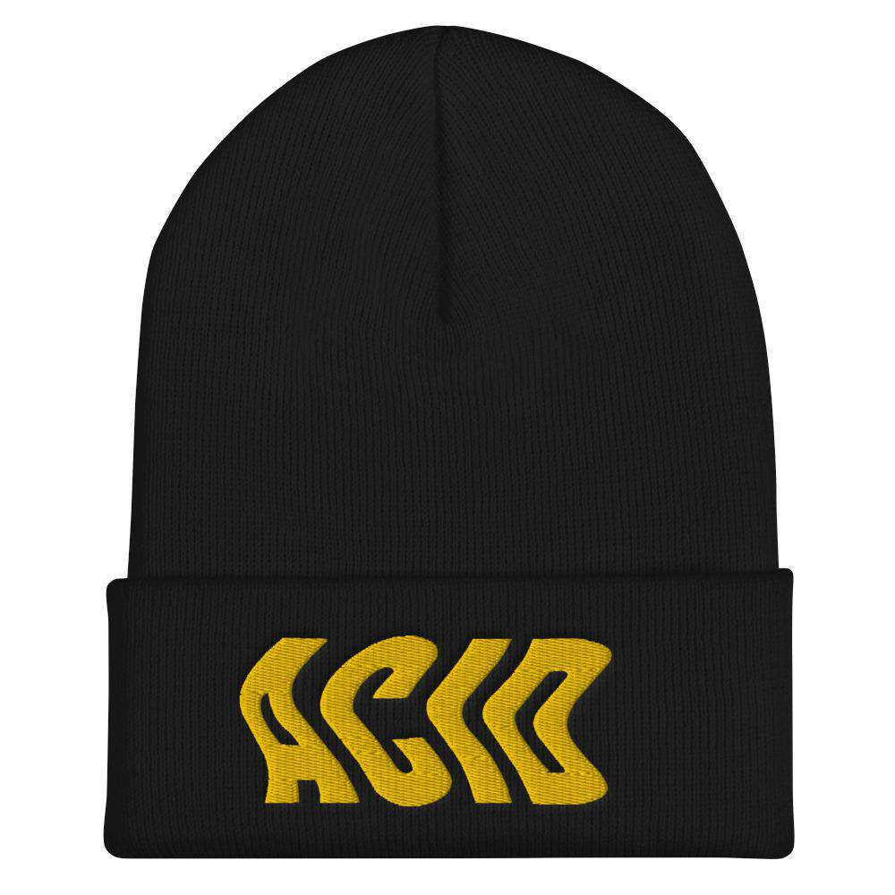 Acid Wave 3D Puff Beanie