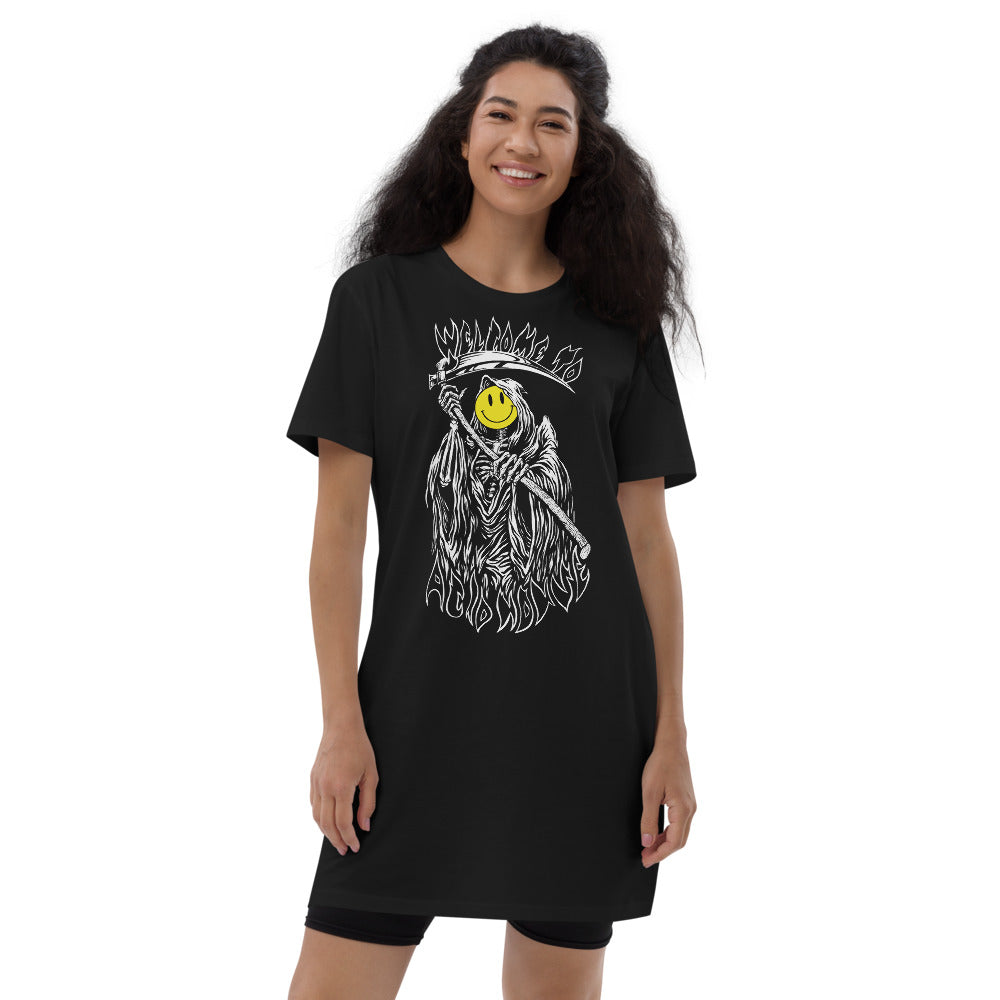 Welcome to Acid House Organic cotton t-shirt dress