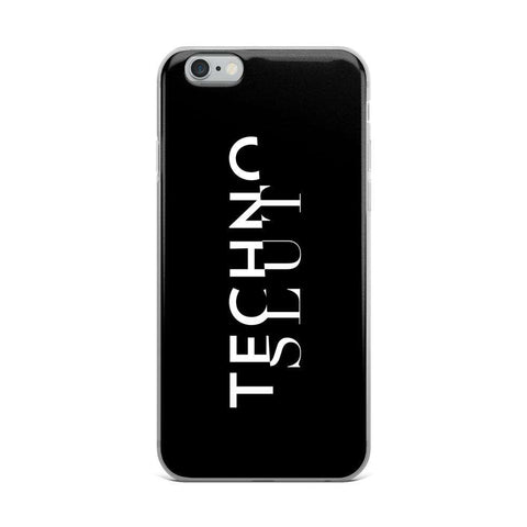 Techno Slut iPhone Case