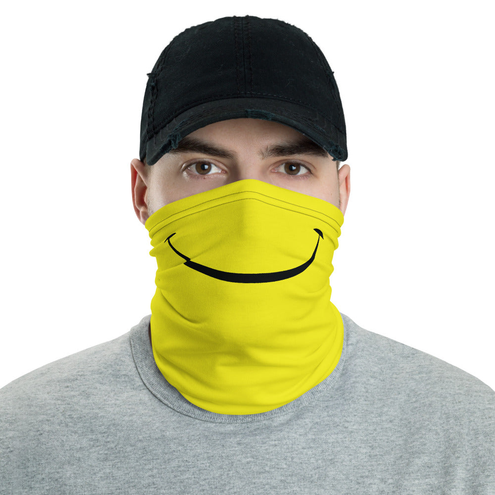 Acid Smiley Face & Neck Mask