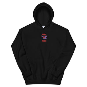 Festival Lights Embroidered Hoodie