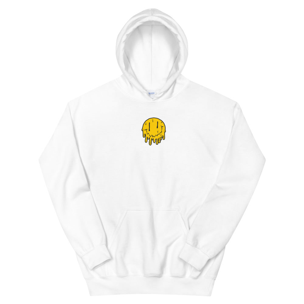 Acid Melt Embroidered Hoodie
