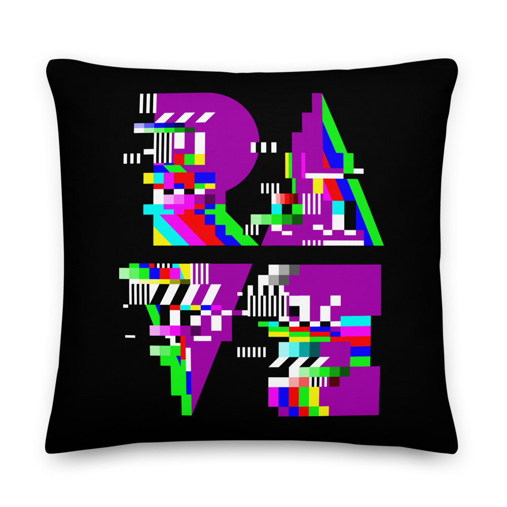 RAVE Test Card Premium Pillow