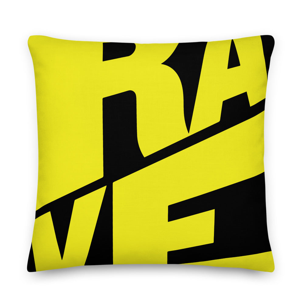 Rave Graphic Premium Pillow