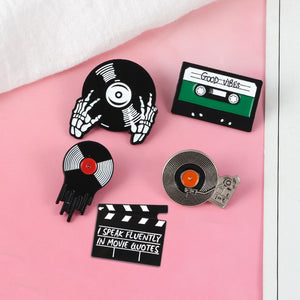 Music And Video Collection Enamel Pins