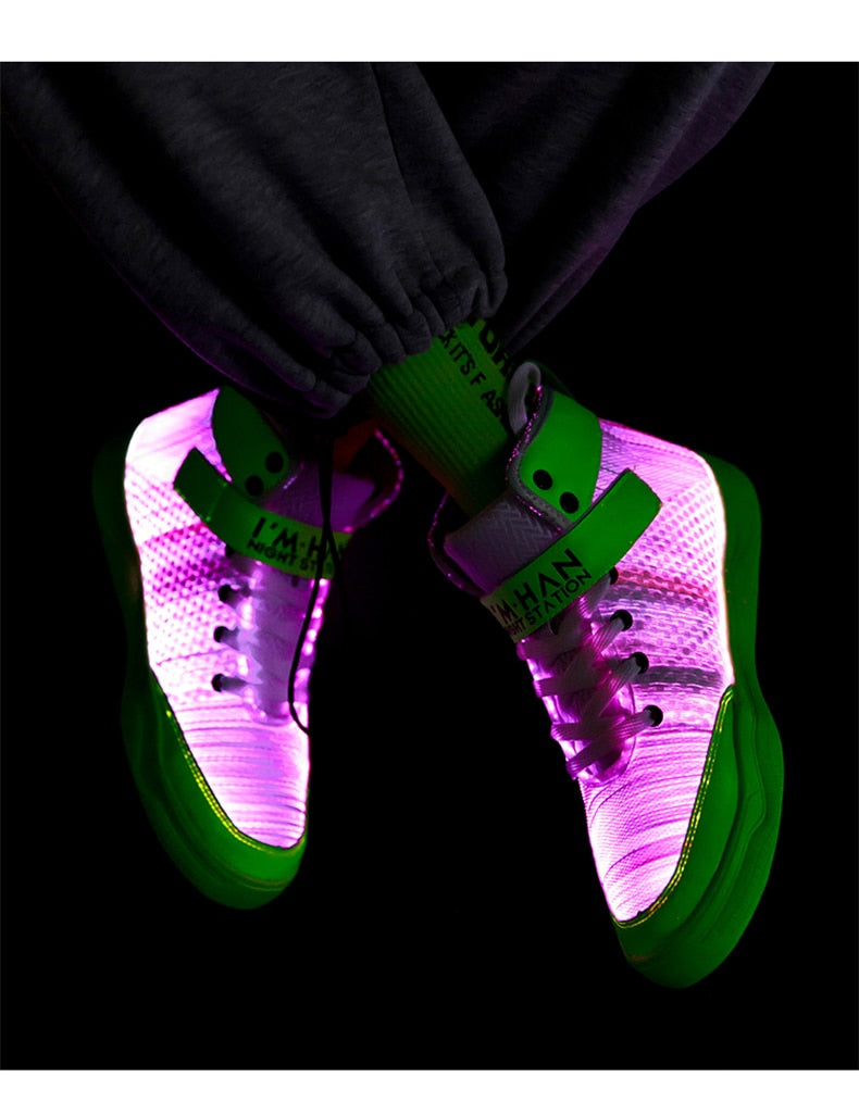 Fiber Optic Shoes