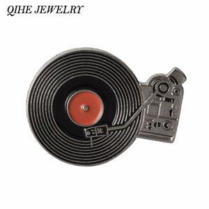 Vinyl record player Pins