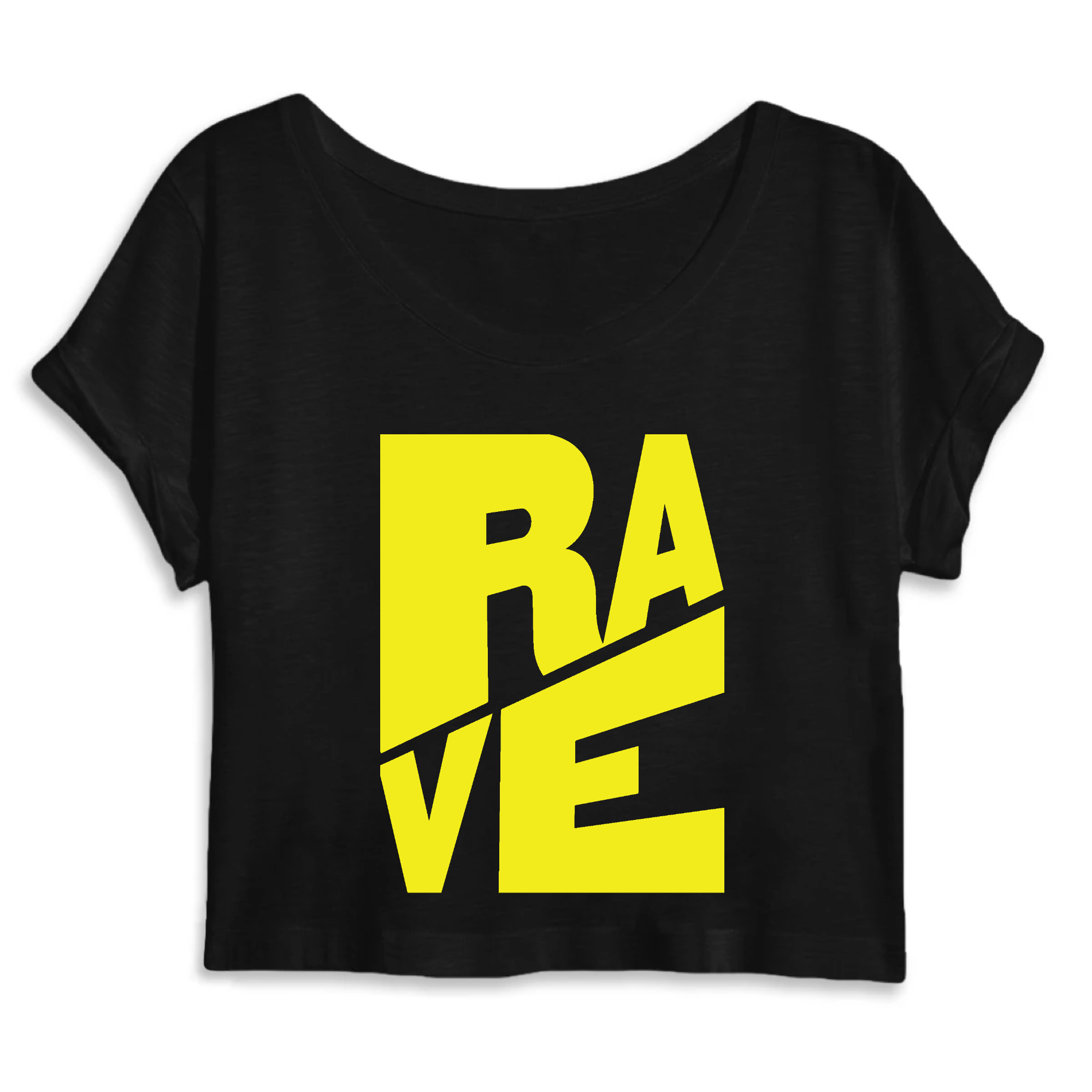 Rave Graphic Crop