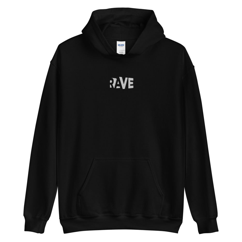 Rave Embroidered Hoodie