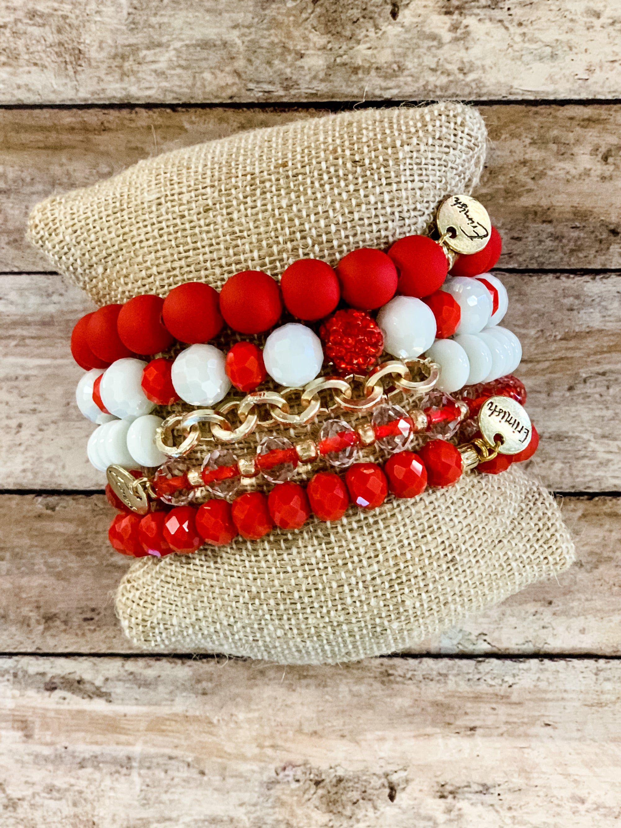 Christmas Mix Erimish Bracelets - B Three Boutique