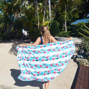 Quick Dry XL Patterned Beach Towels - B Three Boutique