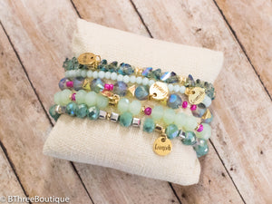 Appletini Erimish Bracelets - B Three Boutique