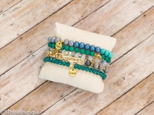 Spearmint Erimish Bracelets - B Three Boutique