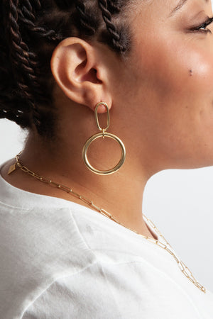 Audrey Earrings - B Three Boutique