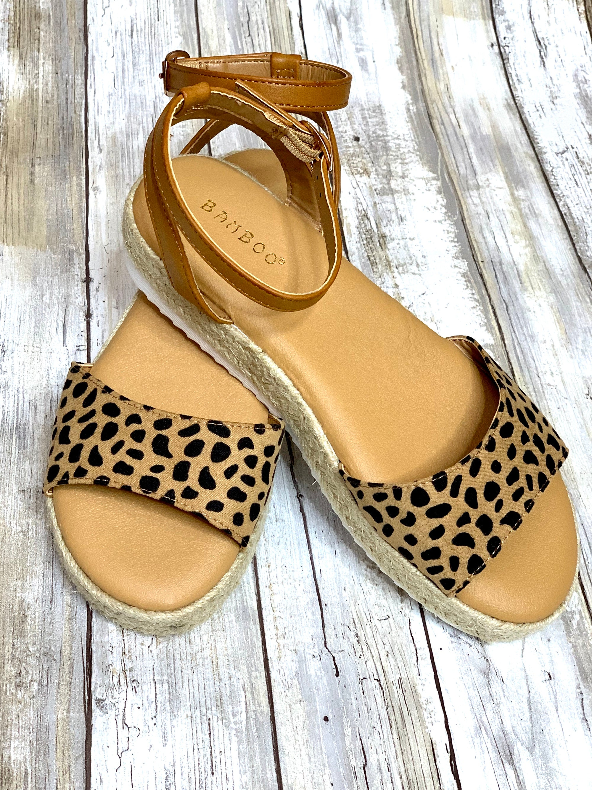 Cheetah Espadrille - B Three Boutique