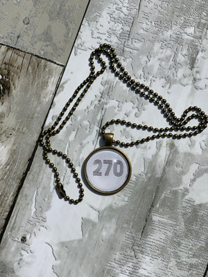 270 Necklace - B Three Boutique