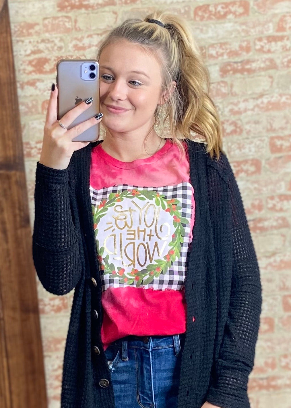Joy To The World Tee - B Three Boutique